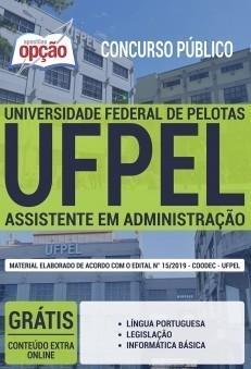 Apostila UFPEL 2019 Assistente em Administração