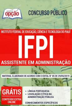 Apostila Concurso IFPI 2019 PDF