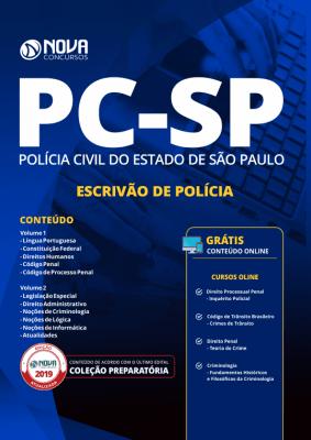 Download Apostila Polícia Civil SP 2019