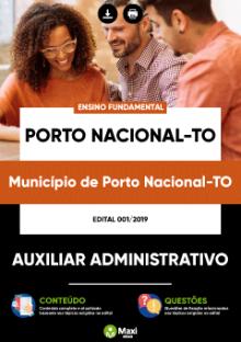 Apostila Concurso Porto Nacional Auxiliar Administrativo