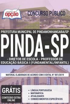 Apostila Prefeitura de Pindamonhangaba 2019 pdf