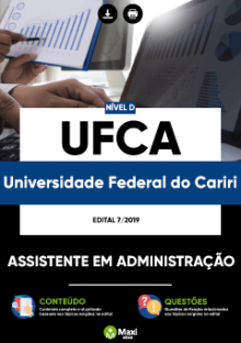 Download Apostila UFCA CE