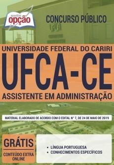 Download Apostila UFCA CE Assistente em Administração