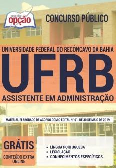 Apostila UFRB 2019 pdf Assistente em Administração
