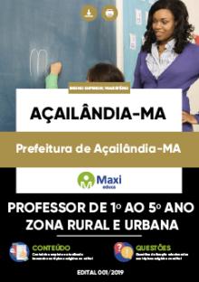 Apostila Prefeitura de Açailândia