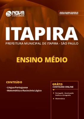 Apostila Prefeitura de Itapira