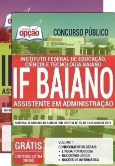 Apostila IF Baiano 2019 Assistente em Administração