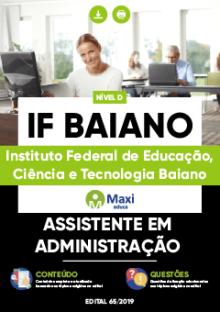 Apostila IF Baiano 2019