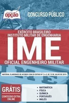 Apostila Concurso IME 2019 Oficial Engenheiro Militar
