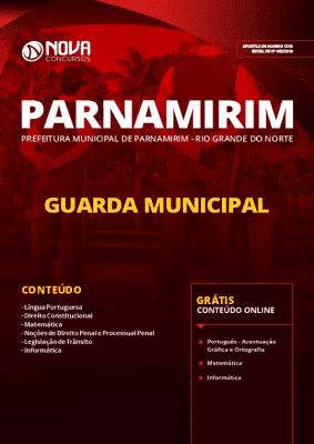 Apostila Guarda Municipal Parnamirim RN 2019