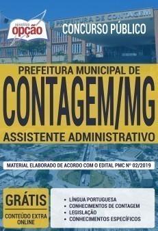 Apostila Prefeitura de Contagem MG 2019 pdf