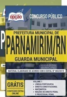 Apostila Guarda Municipal Parnamirim 2019