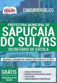 Apostila Sapucaia do SUL 2019 pdf