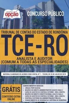 Apostila Concurso TEC-RO 2019 pdf