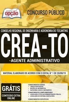 Apostila CERA-TO 2019 Agente Administrativo
