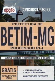 Apostila Prefeitura de Betim