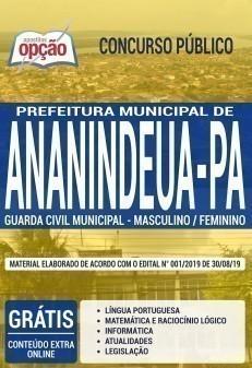Apostila Concurso Guarda Municipal Ananindeua