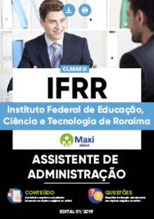 Apostila IFRR 2019