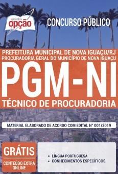 Apostila Procuradoria Geral de Nova Iguaçu 2019 pdf
