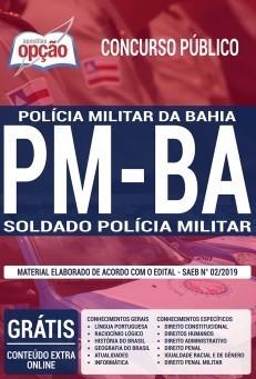 Concurso PM-BA 2019 2020