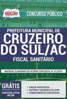 Apostila Prefeitura de Cruzeiro do Sul