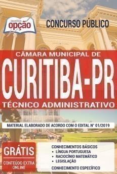 Apostila Câmara de Curitiba Técnico Administrativo
