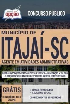 Apostila Concurso Prefeitura de Itajaí