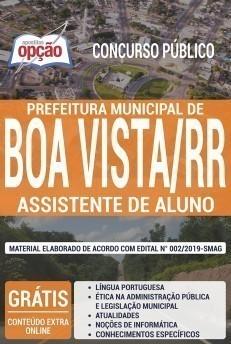 Apostila Prefeitura de Boa Vista 2019 2020