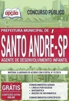 Apostila Concurso Prefeitura de Santo André Agente de Desenvolvimento Infantil