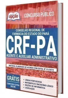 Download Apostila Concurso CRF-PA 2020 pdf