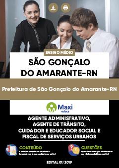Apostila Prefeitura de São Gonçalo do Amarante