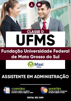 Apostila Assistente em Administração UFMS