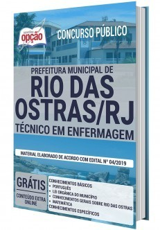 Apostila Técnico em Enfermagem Apostila Concurso Rio das Ostras