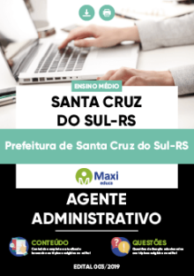 Apostila Concurso Prefeitura de Santa Cruz do Sul