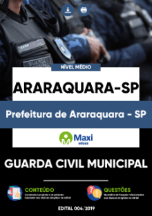 Apostila Guarda Municipal Araraquara