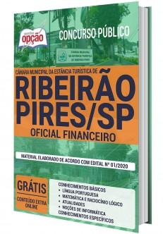 Concurso Câmara de Ribeirão Pires 2020