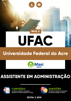Apostila UFAC 2020 pdf Download