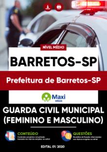 Apostila Prefeitura de Barretos 2020