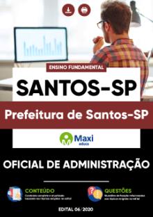 Apostila Grátis Prefeitura de Santos