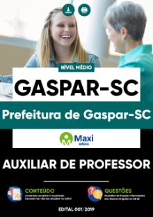 Apostila Concurso Gaspar
