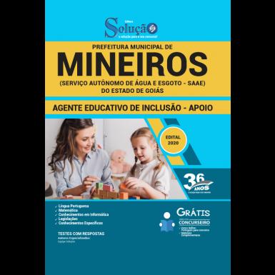 Download Apostila Prefeitura de Mineiros 2020
