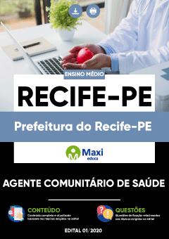 Concurso Prefeitura de Recife 2020