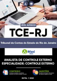 Concurso TCE RJ 2020