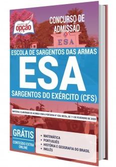 Concurso ESA 2020 Sargentos do Exérxito