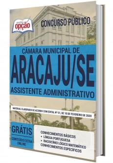 Concurso Câmara de Aracaju 2020
