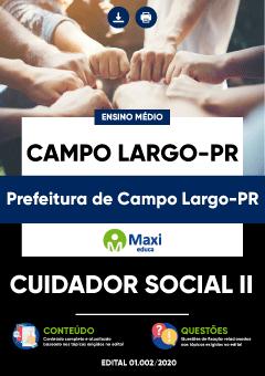 Concurso Prefeitura de Campo Largo PR 2020