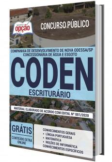 Apostila Concurso CODEN 2020