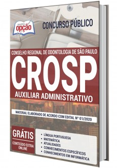 Concurso CRO-SP 2020