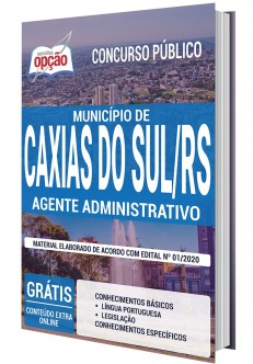 Concurso Prefeitura de Caxias do Sul