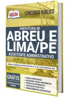 Concurso Prefeitura de Abreu e Lima